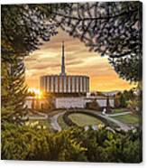 Prove Temple 2 Canvas Print