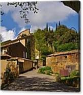 Provencal Village Canvas Print