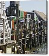Provincetown Docks Canvas Print