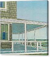 Provincetown Porch Canvas Print