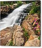 Provo River Falls 3 Canvas Print