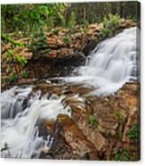 Provo River Falls Canvas Print
