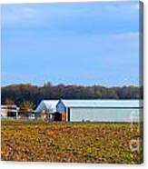 Preparing For The Sowing Season Canvas Print
