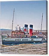 Ps Waverley Approaching Penarth Canvas Print