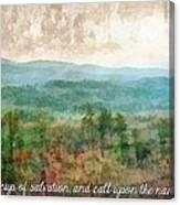 Psalm 116 13 Canvas Print