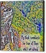 Psalm 119 110 Canvas Print