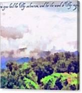 Psalm 119 123 Canvas Print