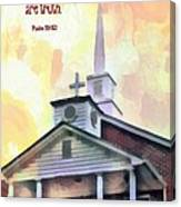 Psalm 119 151 Canvas Print