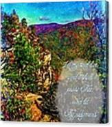 Psalm 119 175 Canvas Print