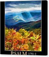 Psalm 121 Canvas Print