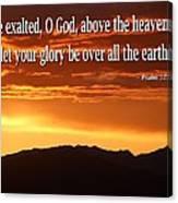 Psalm  Canvas Print