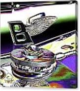Psychedelic Bentley Mascot 2 Canvas Print