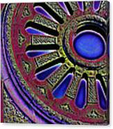 Psychedelic Church Window Canvas Print