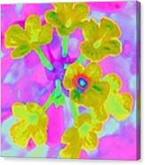 Psychedelic Lantana Canvas Print