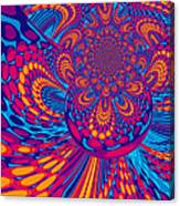 Psychedelic Mind Trip Canvas Print
