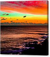 Psychedelic Sky Canvas Print