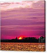 Psychoactive Sunset Canvas Print