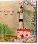 Pt Amour Lighthouse Newfoundland Chart Map Art Cathy Peek ...