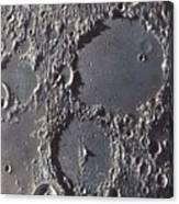 Ptolemaeus And Alphonsus Craters Canvas Print
