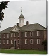 Public Hospital Colonial Williamsburg Canvas Print