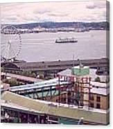 Public Market Seattle Canvas Print