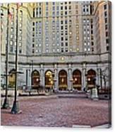 Public Square Cleveland Ohio Canvas Print