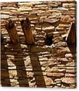 Pueblo Bonito Wall Canvas Print