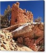 Pueblo Cliff Canvas Print