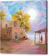 Pueblo De Las Lunas Canvas Print