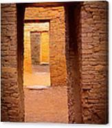 Pueblo Doorways Canvas Print