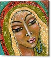 Pueblo Priestess Canvas Print