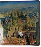 Pueblo Tesuque Number One Canvas Print