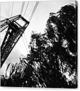 Puente Colgante Iv Canvas Print