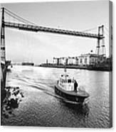Puente Colgante V Canvas Print