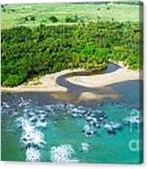 Puerta Plata Coastline Canvas Print