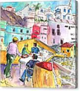 Puerto De Sardina 01 Canvas Print