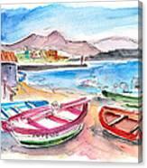 Puerto De Sardina 03 Canvas Print