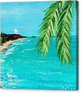 Puerto Plata Beach  Canvas Print