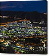 Puerto Rico By Night  Canvas Print