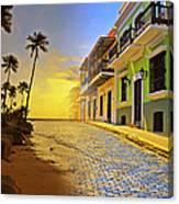 Puerto Rico Collage 2 Canvas Print