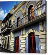 Puerto Rico - Old San Juan 002 Canvas Print