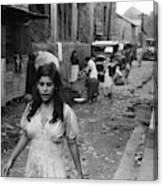 Puerto Rico Slum, 1942 Canvas Print