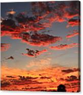 Puffy Pink Clouds Canvas Print