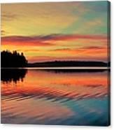 Puget Palette Canvas Print