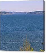 Puget Sound Panoramic Canvas Print