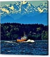 Puget Sound Tugboat Canvas Print
