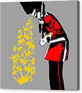Puke Royal Guard Digital Version Canvas Print