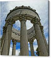 Pulgas Water Temple Canvas Print