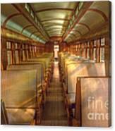 Pullman Porter Train Car Canvas Print