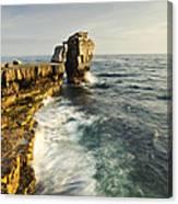 Pulpit Rock In Dorset Canvas Print